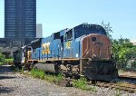 CSX 4807 Ballast Train